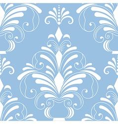 Vintage damask seamless pattern element vector