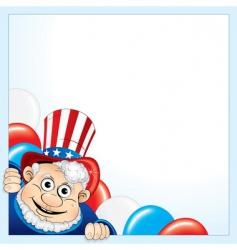 President cartoon vector