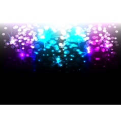Magic disco background vector