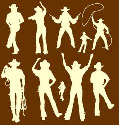 Cowboys 1 vector