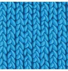 Knit sewater fabric seamless pattern texture vector
