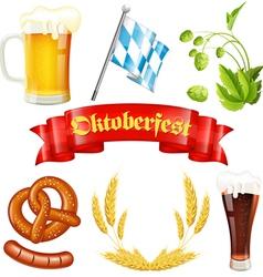 Oktoberfest icon vector