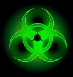 Biohazard symbol vector