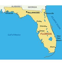 Florida - map vector
