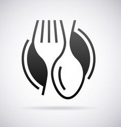 Food service logo vector