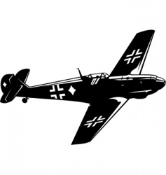 Messerschmitt bf vector