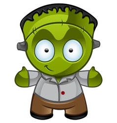Frankensteins monster smile vector