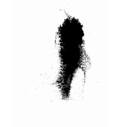 Great ink divorce dirty stain vector