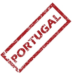 New portugal rubber stamp vector