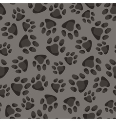 Seamless pattern background with abstract animal vector