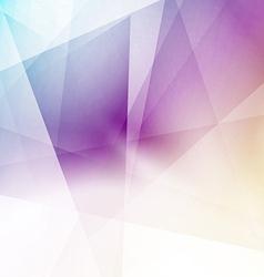 Modern triangular structure crystal background vector