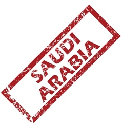 New saudi arabia rubber stamp vector