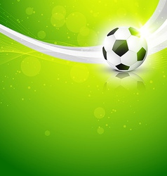 Artistic background of football vector