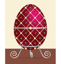 Faberge egg vector