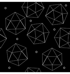 Geometric seamless simple monochrome minimalistic vector