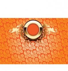 Ornate wallpaper vector