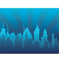 Abstract urban background vector