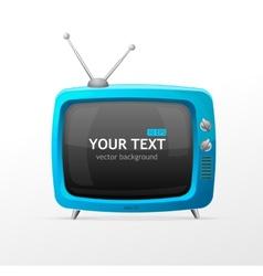 Tv blank vector