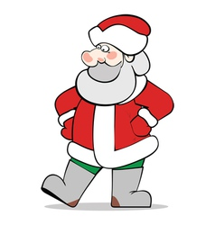 Santaclaus without bag vector