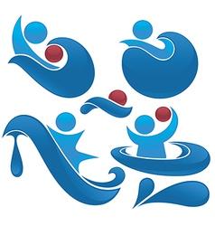 Water actions vector