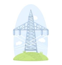 High voltage post vector
