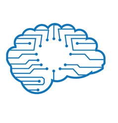 Chip brain vector