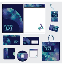Template for business vector