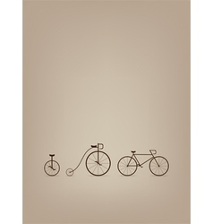 Bike card vector