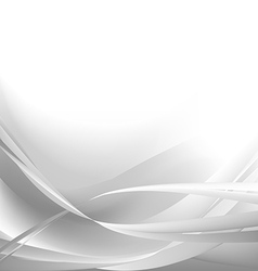 Gray monohrom waves abstract background vector