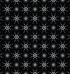 Seamless pattern of symbolic stars 7 vector