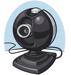Web cam vector