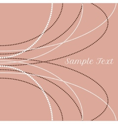 Delicate pearl beads for backgrounds cards vector