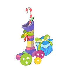 A view of gifts vector