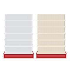 Store shelf vector