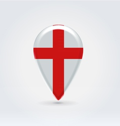 English icon point for map vector