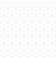 Subtle geometrical seamless pattern vector
