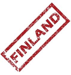 New finland rubber stamp vector