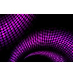 Purple snake background vector
