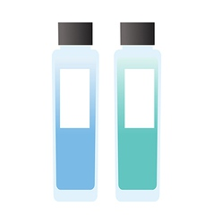 A pair of cosmetics vector