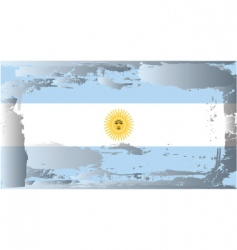 Argentina national flag vector