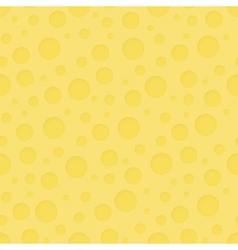 Cheese pattern background vector