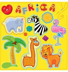 Africa for kids 380 vector