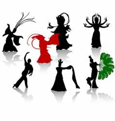 China dance vector
