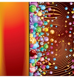 Abstract poster vector