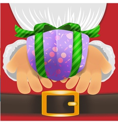 Christmas giftbox vector