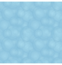 Abstract cloudy bubbles pattern vector