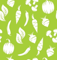 Vegetable pattern vector