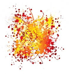 Ink splat design vector