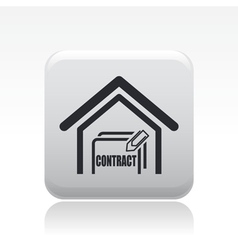 House sale icon vector