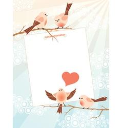 Love song frame vector